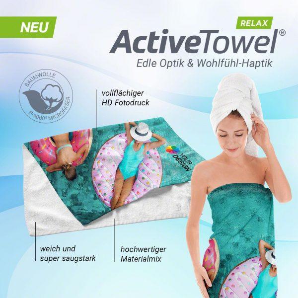 Detailansicht 5 – ActiveTowel® Relax Wohlfühl-Handtuch 180x70 cm