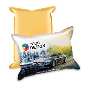 CarKoser® 2in1 Classic Scheibenschwamm Kissenform als Werbeartikel mit Logo im PRESIT Online-Shop bedrucken lassen