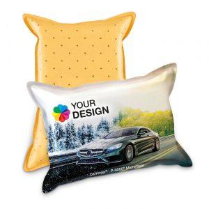 CarKoser® HD 2in1 Scheibenschwamm Kissenform als Werbeartikel mit Logo im PRESIT Online-Shop bedrucken lassen