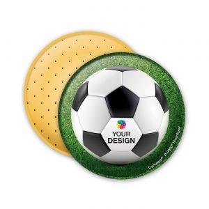 CarKoser® 2in1 Classic Scheibenschwamm Kreisform als Werbeartikel mit Logo im PRESIT Online-Shop bedrucken lassen