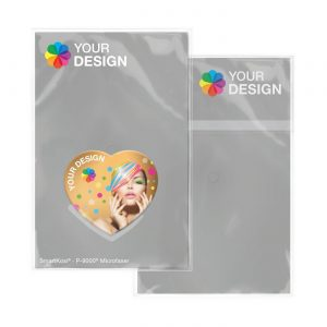 SmartKosi® Display-Cleaner Herz  als Werbeartikel mit Logo im PRESIT Online-Shop bedrucken lassen