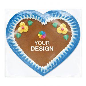 POLYCLEAN Displaytuch Herz 18x16 cm als Werbeartikel mit Logo im PRESIT Online-Shop bedrucken lassen