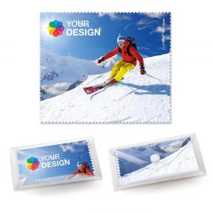 POLYCLEAN Brillenputztuch 18x15 cm als Werbeartikel mit Logo im PRESIT Online-Shop bedrucken lassen