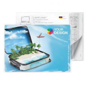 LapKoser® 3in1 Notebookpad 21x15 cm als Werbeartikel mit Logo im PRESIT Online-Shop bedrucken lassen