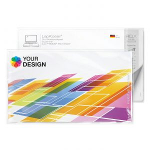 LapKoser® 3in1 Notebookpad 28x16 cm als Werbeartikel mit Logo im PRESIT Online-Shop bedrucken lassen