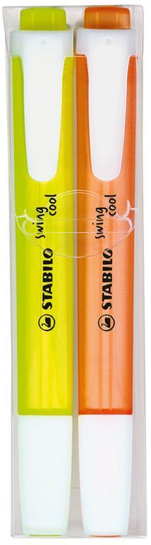 STABILO swing cool 2er-Set als Werbeartikel mit Logo im PRESIT Online-Shop bedrucken lassen