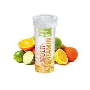 10er Brausetabletten - Multivitamin als Werbeartikel mit Logo im PRESIT Online-Shop bedrucken lassen