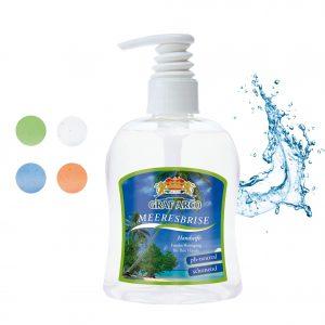 300 ml PET Spender transp. - Flüssigseife als Werbeartikel mit Logo im PRESIT Online-Shop bedrucken lassen