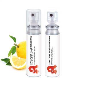 20 ml Pocket Spray  - Handreinigungsspray antibakteriell als Werbeartikel mit Logo im PRESIT Online-Shop bedrucken lassen