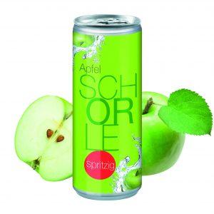 250 ml Apfelschorle Spritzig als Werbeartikel mit Logo im PRESIT Online-Shop bedrucken lassen