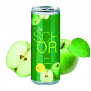 250 ml Apfelschorle still als Werbeartikel mit Logo im PRESIT Online-Shop bedrucken lassen