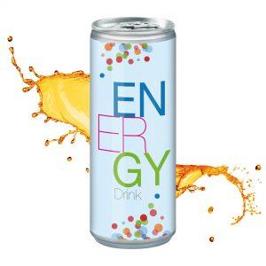 250 ml Energy Drink als Werbeartikel mit Logo im PRESIT Online-Shop bedrucken lassen