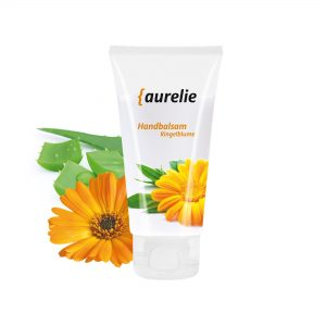 50 ml Tube mit Klappdeckel - Handbalsam Ringelblume - Aloe Vera als Werbeartikel mit Logo im PRESIT Online-Shop bedrucken lassen