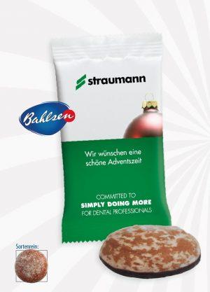 Bahlsen Lebkuchen Werbetütchen  Inhalt :  1 Stück als Werbeartikel mit Logo im PRESIT Online-Shop bedrucken lassen