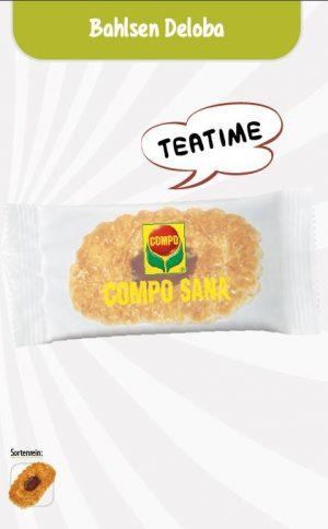 Bahlsen Deloba Keks Werbetüte  Inhalt :  1 Stück als Werbeartikel mit Logo im PRESIT Online-Shop bedrucken lassen