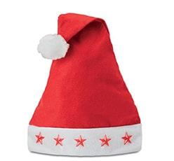 Weihnachtsmützen als Werbeartikel bedrucken