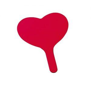 Fächer Herz als Werbeartikel mit Logo im PRESIT Online-Shop bedrucken lassen