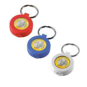 Chip-Schlüsselanhänger Safe als Werbeartikel mit Logo im PRESIT Online-Shop bedrucken lassen