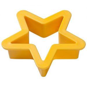 Plätzchenausstecher Stern als Werbeartikel mit Logo im PRESIT Online-Shop bedrucken lassen