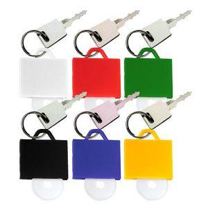 Chip-Schlüsselanhänger Tasche mit Chip als Werbeartikel mit Logo im PRESIT Online-Shop bedrucken lassen