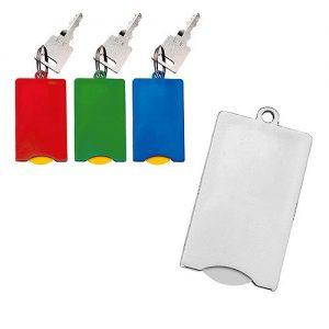 Chip-Schlüsselanhänger Square als Werbeartikel mit Logo im PRESIT Online-Shop bedrucken lassen