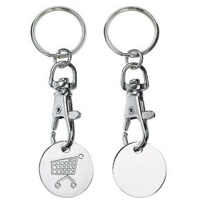 Chip-Schlüsselanhänger Elegance als Werbeartikel mit Logo im PRESIT Online-Shop bedrucken lassen