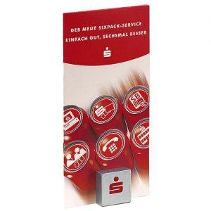 Notizhalter Magnet-Quadrat als Werbeartikel mit Logo im PRESIT Online-Shop bedrucken lassen