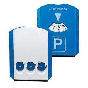 Parkscheibe Prime mit Chips als Werbeartikel mit Logo im PRESIT Online-Shop bedrucken lassen