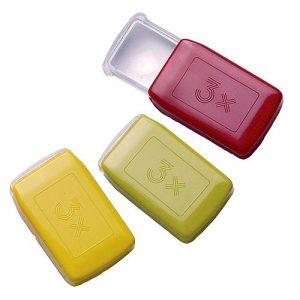 Lupe Pocket 3x als Werbeartikel mit Logo im PRESIT Online-Shop bedrucken lassen