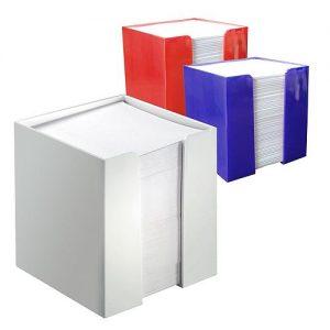 Zettelbox Würfel als Werbeartikel mit Logo im PRESIT Online-Shop bedrucken lassen