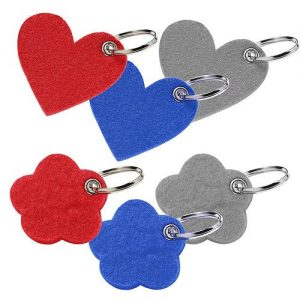 Filz-Schlüsselanhänger Motiv als Werbeartikel mit Logo im PRESIT Online-Shop bedrucken lassen
