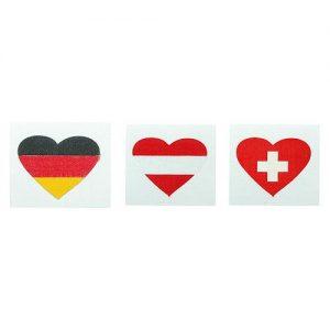 Fantape Herz einzeln als Werbeartikel mit Logo im PRESIT Online-Shop bedrucken lassen