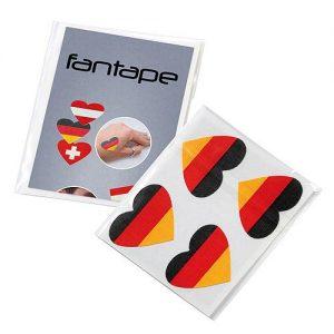 Fantape Herz 4er-Set als Werbeartikel mit Logo im PRESIT Online-Shop bedrucken lassen
