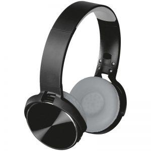 Bluetooth Kopfhörer mit Metallplatten auf den Ohrmuscheln als Werbeartikel mit Logo im PRESIT Online-Shop bedrucken lassen