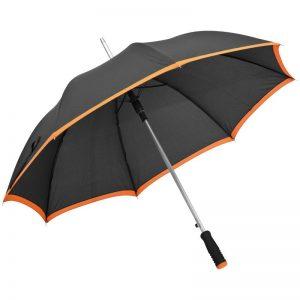 Automatik Regenschirm aus Pongee als Werbeartikel mit Logo im PRESIT Online-Shop bedrucken lassen