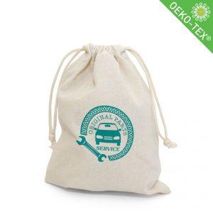Öko Baumwollbeutel DOHA mit Logo oder Motiv bedrucken lassen.