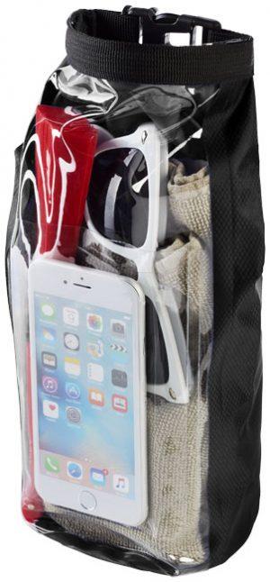 Tourist 2 l wasserdichte Outdoor-Tasche mit Telefonhülle im PRESIT Werbeartikel Online-Shop