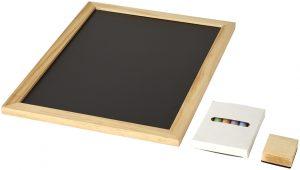 Recess 6-teiliges Set mit Tafel und bunter Kreide im PRESIT Werbeartikel Online-Shop