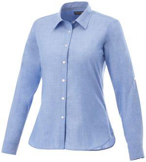 Lucky langärmlige Bluse in Jeansoptik im PRESIT Werbeartikel Online-Shop