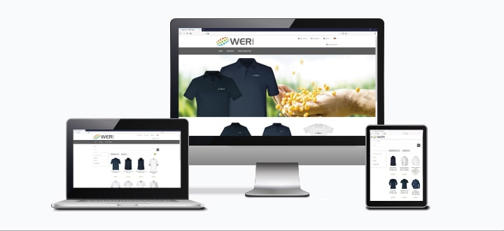 Agromais Werbeartikel Online-Shop mit Textilien ab 1 Stück bedrucken lassen.