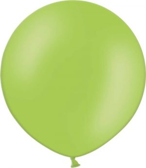 Riesenballon mittelgruen mit logo bedrucken lassen