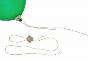 Oeko Pappverschluss für Luftballons
