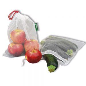 Veggiebag Obst- und Gemüsenetz Set