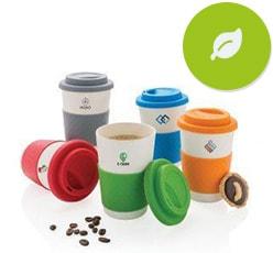 Öko Kaffeebecher als Werbeartikel bedrucken