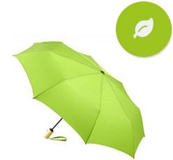 Öko Regenschirme als Werbeartikel bedrucken