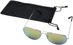 Aviator Sonnenbrille mit farbigen Spiegelgläsern im PRESIT Werbeartikel Online-Shop
