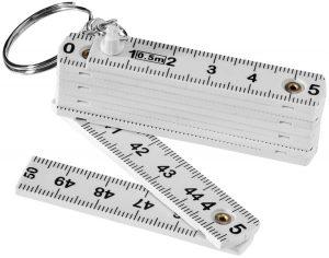 Harvey Schlüsselanhänger mit einklappbarem 50 cm Zollstock im PRESIT Werbeartikel Online-Shop