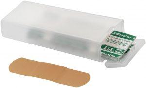 Winnipeg 5-teilige transparente Pflasterbox im PRESIT Werbeartikel Online-Shop