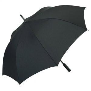 FARE AC-Alu-Gästeschirm Rainmatic® XL Black als Werbeartikel mit Logo im PRESIT Online-Shop bedrucken lassen