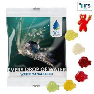 Fruchtgummi-Standardformen 20 g  als Werbeartikel mit Logo im PRESIT Online-Shop bedrucken lassen